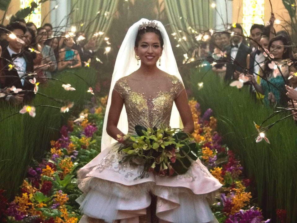 Araminta's Wedding Dress from Crazy Rich Asians
