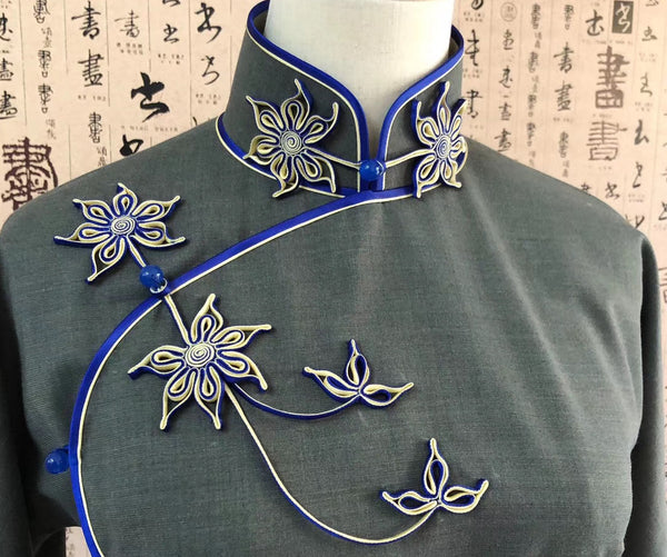 Most Beautiful Pankou Knots, Chinese Button Frog Closure Styles