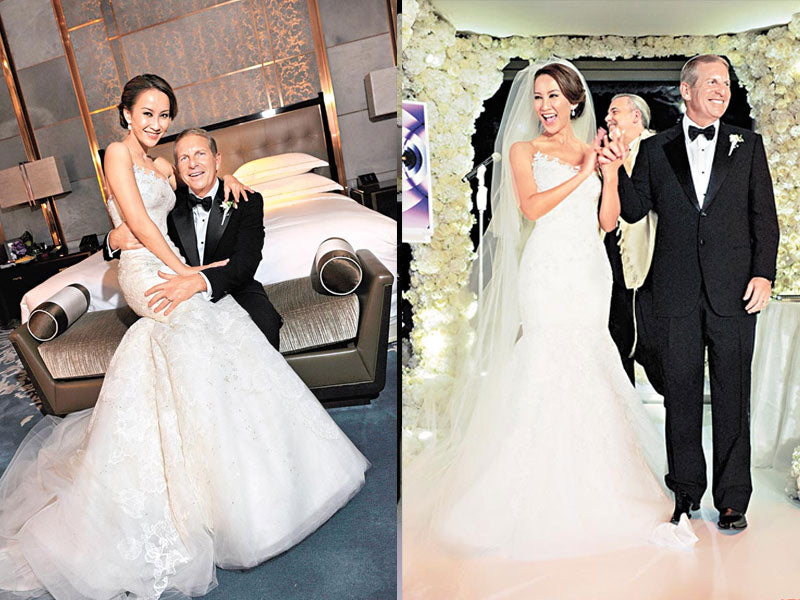 Crazy Rich Asian Weddings, Chinese Wedding of Coco Lee, Wedding Dress