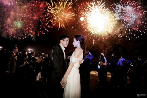 Crazy Rich Asian Weddings, Chinese Wedding of Guo Jing Jing, Chinese Wedding