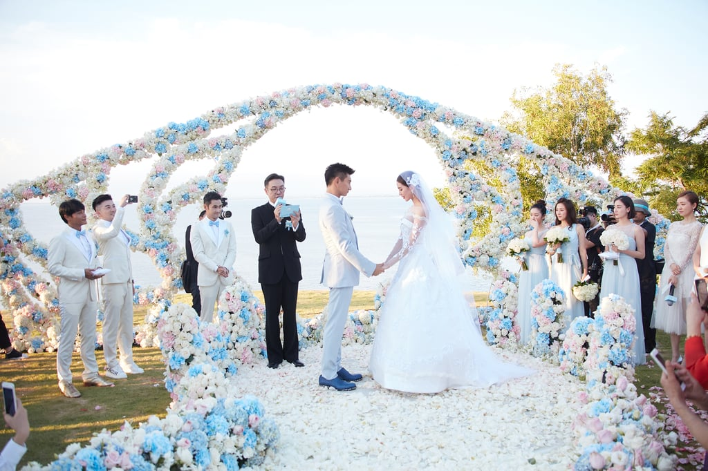 Crazy Rich Asian Weddings, Chinese Wedding of Cecilia Liu, Chinese Wedding