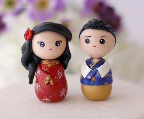 30 Best ideas for a Modern Chinese Wedding | Wedding Cake Topper