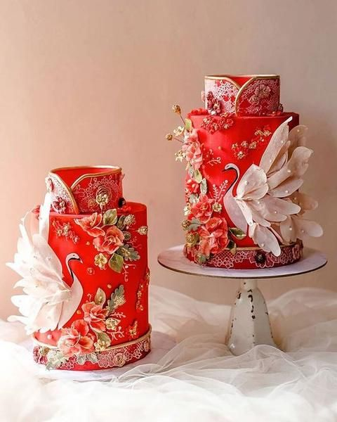 30 Best ideas for a Modern Chinese Wedding | Traditional Chinese Wedding Cake