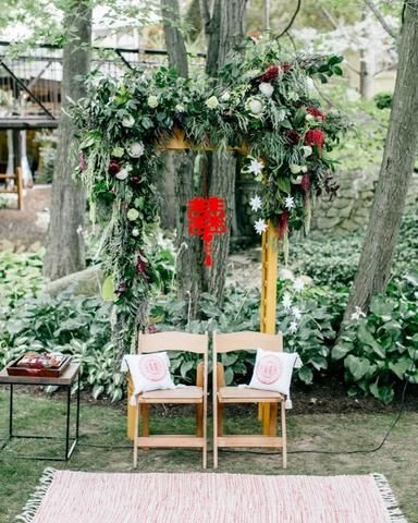30 Best ideas for a Modern Chinese Wedding | Double Happiness Arch