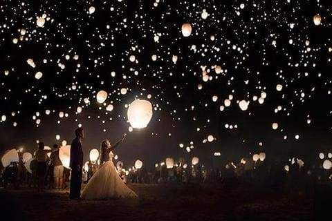 30 Best ideas for a Modern Chinese Wedding | Chinese Lantern SEndoff