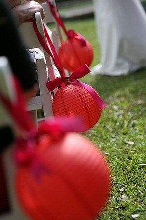 30 Best ideas for a Modern Chinese Wedding | Ceremony Lanterns Decoration