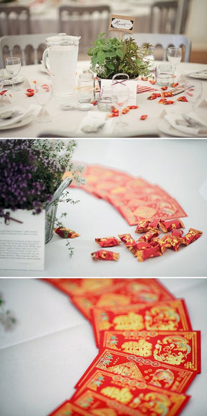 30 Best ideas for a Modern Chinese Wedding | Red Envelope Wedding Decor