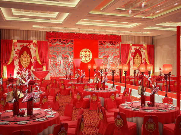 12 Beautiful Chinese Wedding Traditions and Customs, Chinese Wedding Banquet, By East Meets Dress