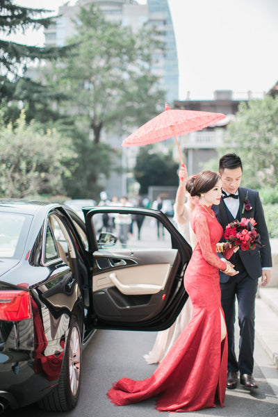 12 Beautiful Chinese Wedding Traditions and Customs, Wedding Procession, By East Meets Dress