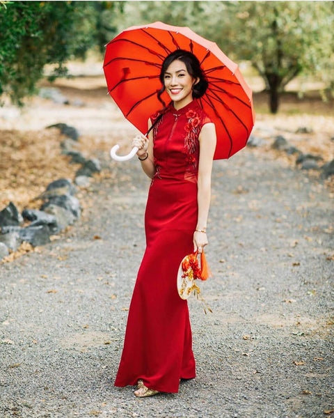 12 Beautiful Chinese Wedding Traditions and Customs, Modern Chinese Wedding Dress, By East Meets Dress
