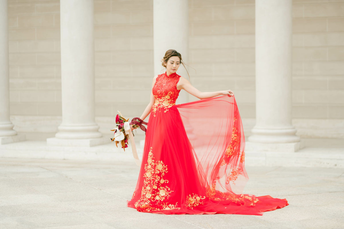 Chinese Wedding Dress for the Modern Bride  East Meets Dress