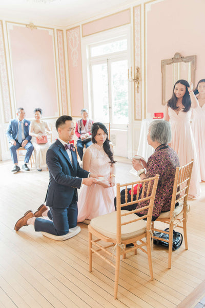 Chinese Wedding Tea Ceremony at Wedding Venue