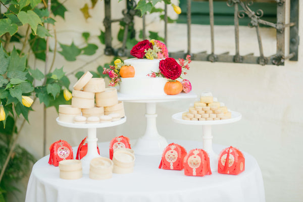 Modern Chinese Wedding Banquet Decorations, Chinese Wedding Cake Dessert Display