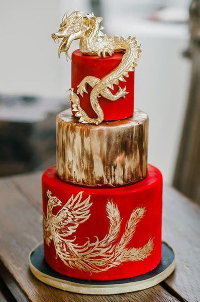 Modern Chinese Wedding Banquet Decorations, Chinese Wedding Cake