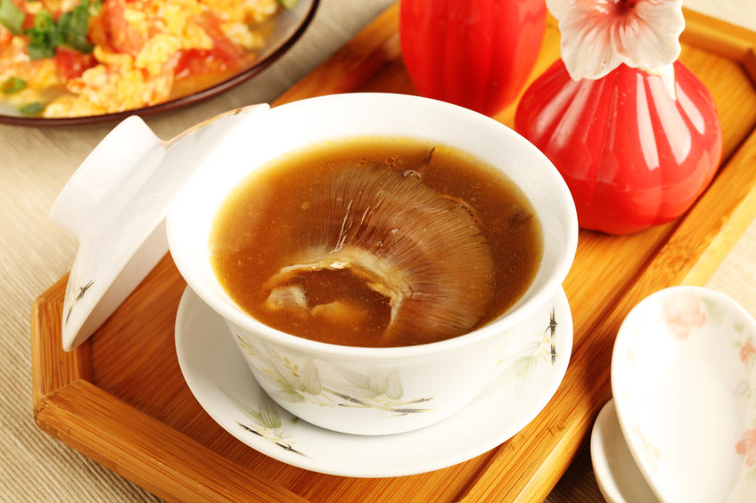 East Meets Dress Traditional Foods to Serve at Chinese Wedding Banquet, Shark Fin Soup