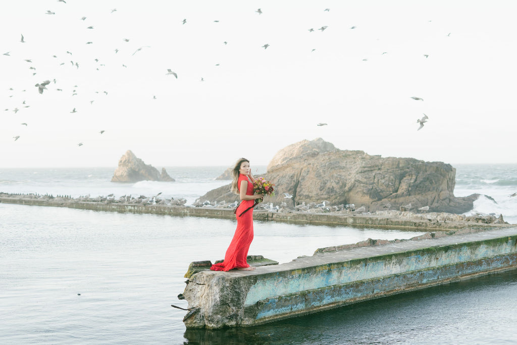 East-Meets-Dress-Chinese-Wedding-Engagement-Shoot-Sutro-Baths