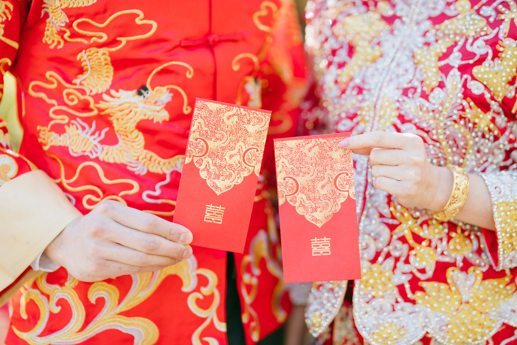 10 of the Most Important Chinese Wedding Superstitions to follow for your wedding, banquet, or tea ceremony | Double Happiness Red Envelopes