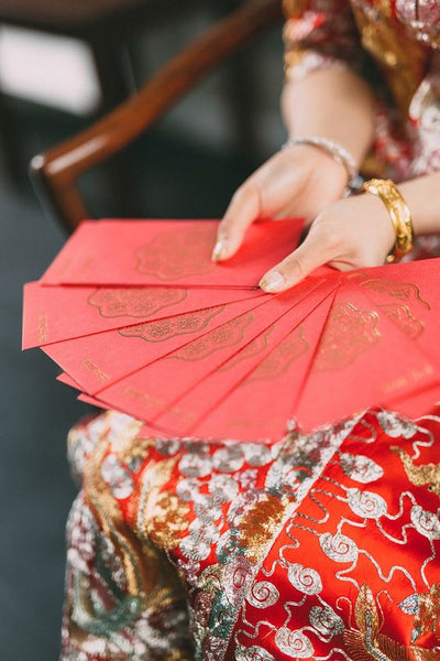 5 Must-Have Chinese Wedding Symbols For Your Wedding, Red Envelopes, By East Meets Dress