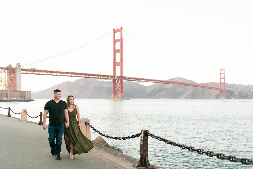 Best Bay Area Engagement Photo Shoot Locations in San Francisco
