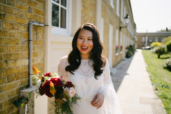 East Meets Dress Modern Multicultural London Wedding With Chinese Ceremony