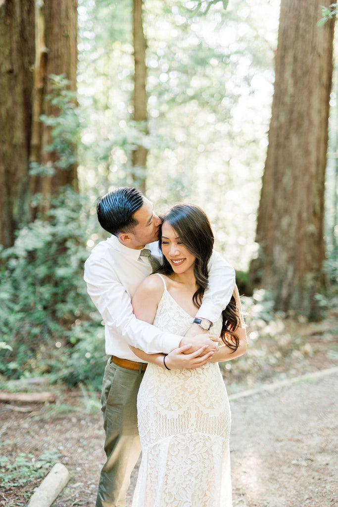 Monica Lam Bridal and Engagement Photographer, Redwoods, East Meets Dress Photographer Spotlight