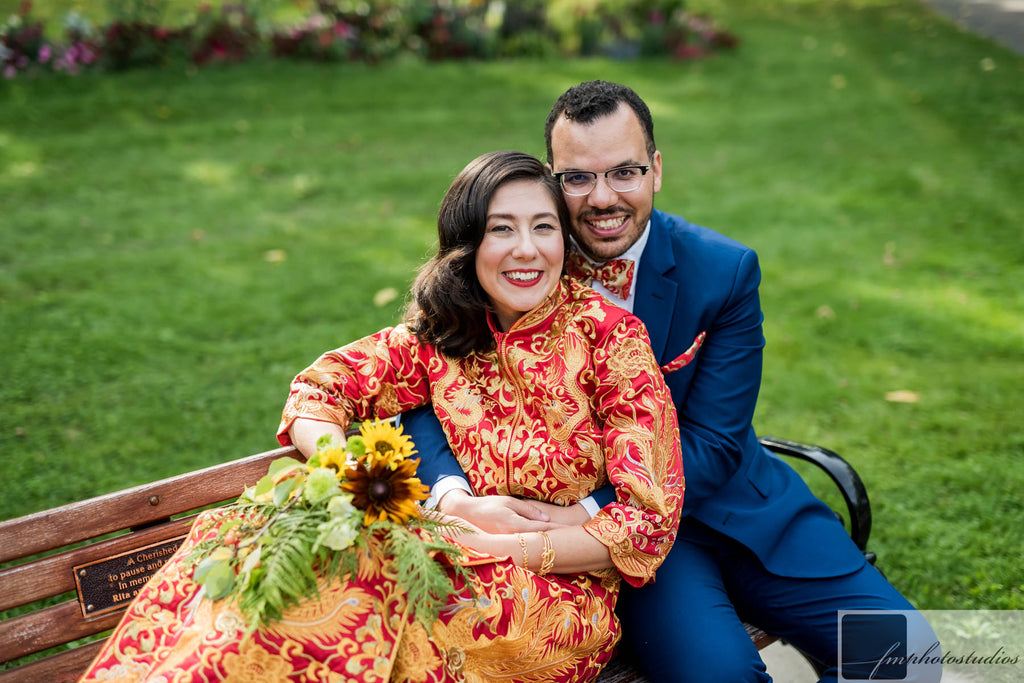 East Meets Dress Dos and Don'ts of Planning a Multicultural Wedding