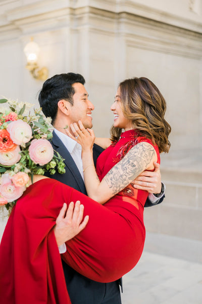 East-Meets-Dress-Red-Marilyn-Qipao, How to Choose the Best Qipao For Your Wedding