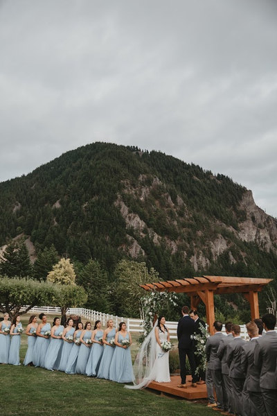 East Meets Dress Nature Inspired Outdoors Taiwanese American Wedding