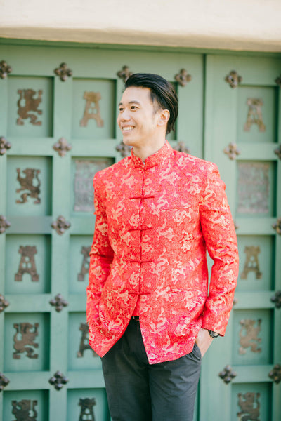 Tang Suit 101, History of the Modern Tang Suit or Mandarin Collar Jacket, East Meets Dress
