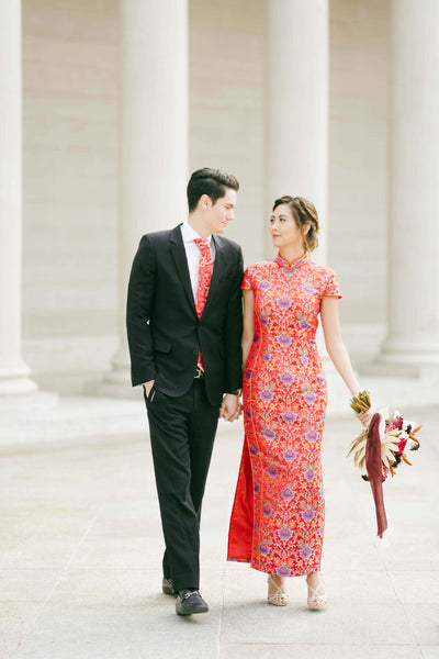 Modern Cheongsam Qipao Dress For Your Chinese Wedding Inspiration, Ali Dress