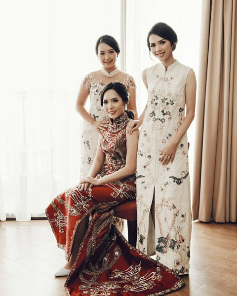 Modern Cheongsam Qipao Dress For Your Chinese Wedding Inspiration, Traditional Chinese Wedding Dress