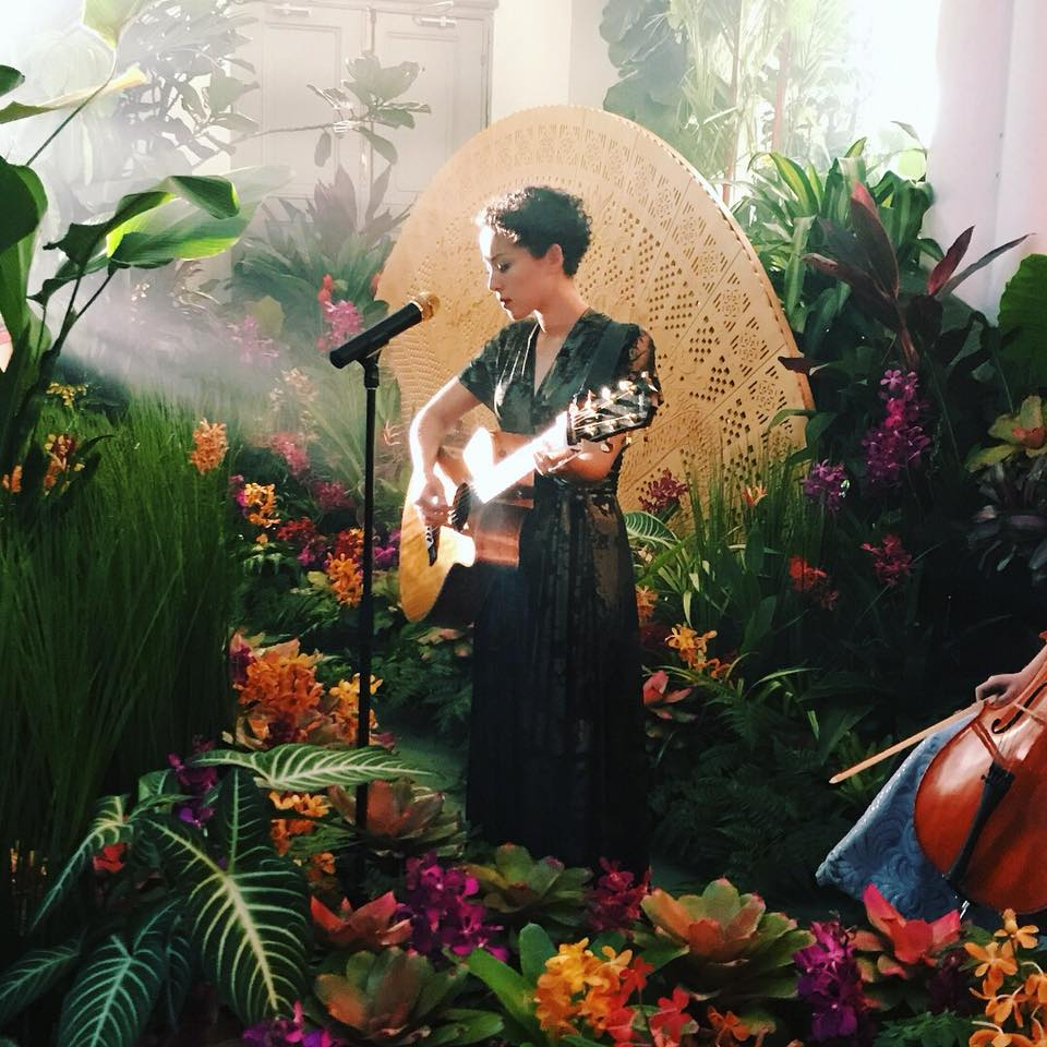 Kina Grannis Singing in Crazy Rich Asian's Wedding