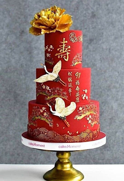 35 Of The Best Modern Chinese Wedding Cake Designs East Meets Dress