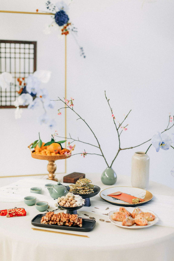 Chinese Wedding Tradition Ideas, Modern White Cheongsam and Chinese Dessert Table