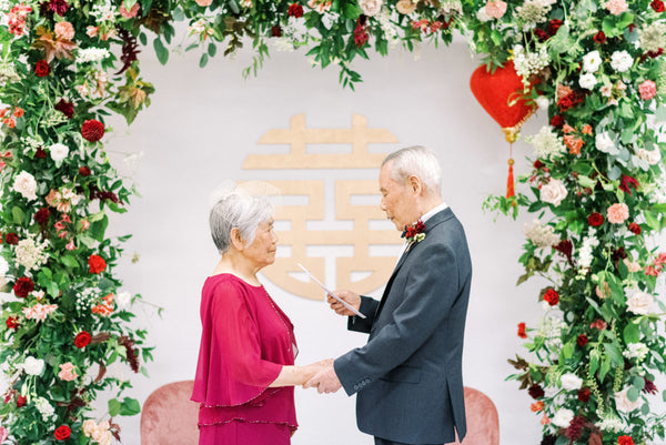 4 Romantic Chinese Phrases to add to your Wedding