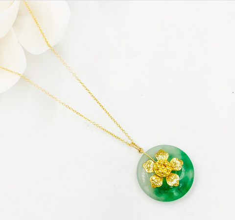 East Meets Dress Chinese Wedding Dress Accessory, Jade Necklace