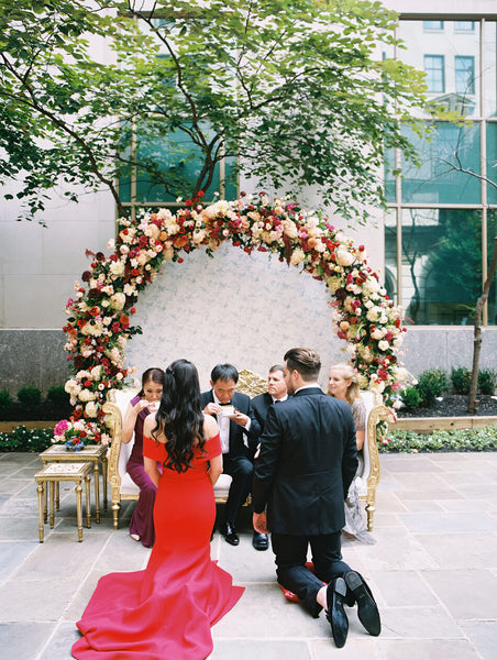 When to Have Your Chinese Wedding Tea Ceremony, During Wedding