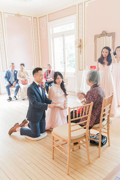 When to Have Your Chinese Wedding Tea Ceremony, Traditional Morning of Wedding