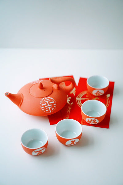 Double Happiness Bliss Tea Set