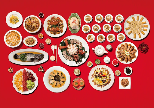 Differences in the types of food served between in Chinese vs. American weddings