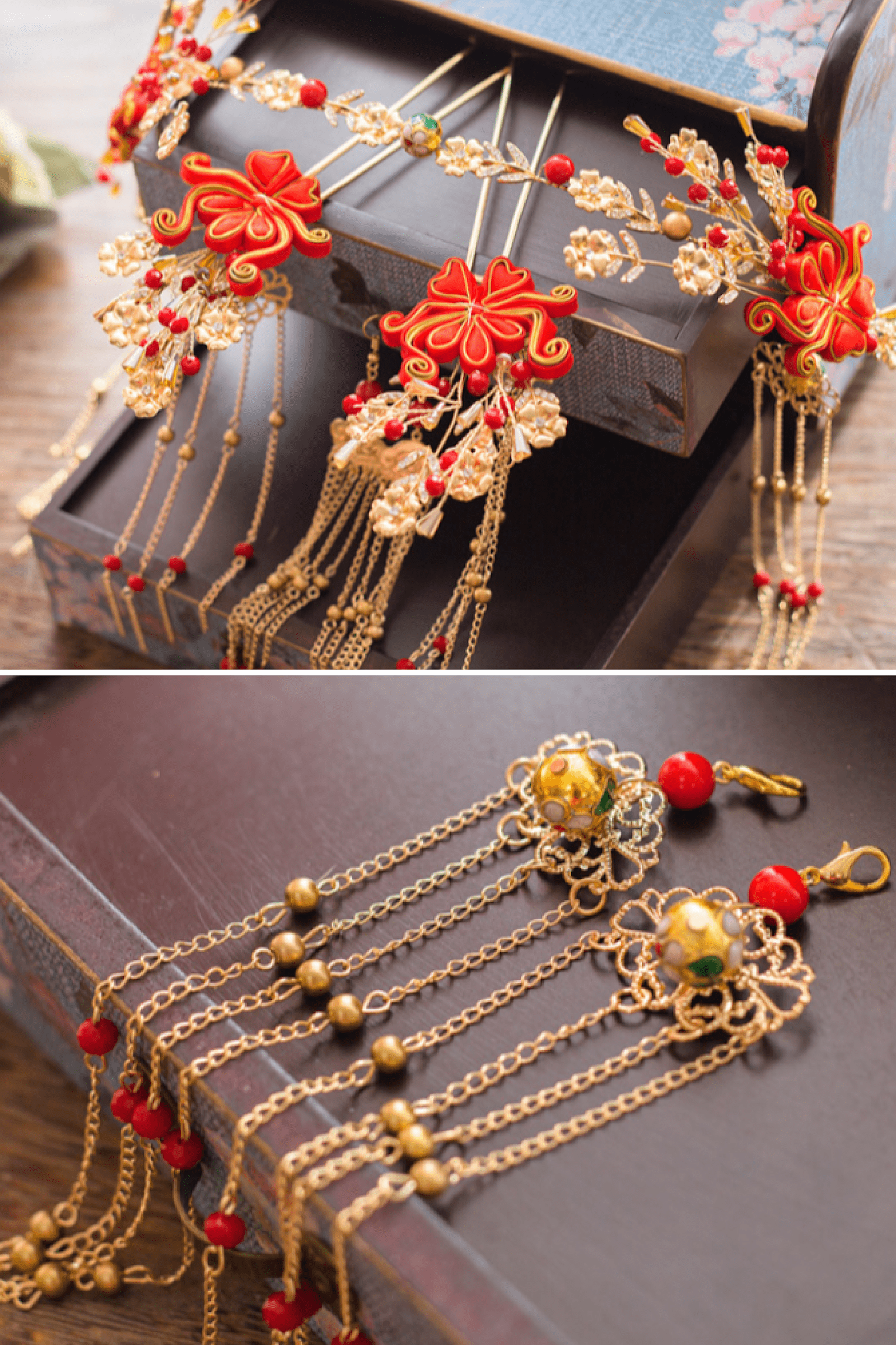 Ruby Hairpin - Accessories - East Meets Dress