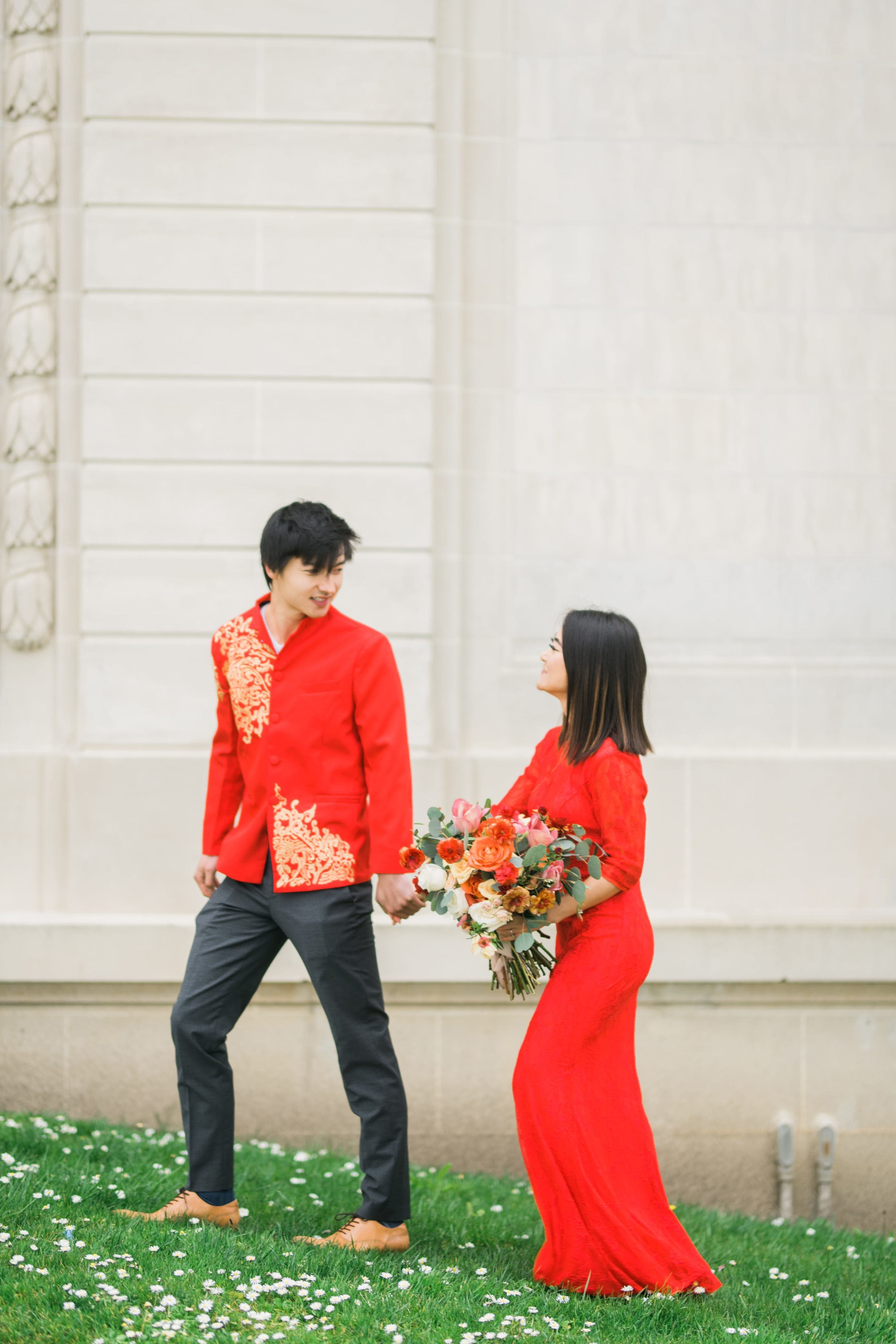 Tang Jacket - changshan - East Meets Dress