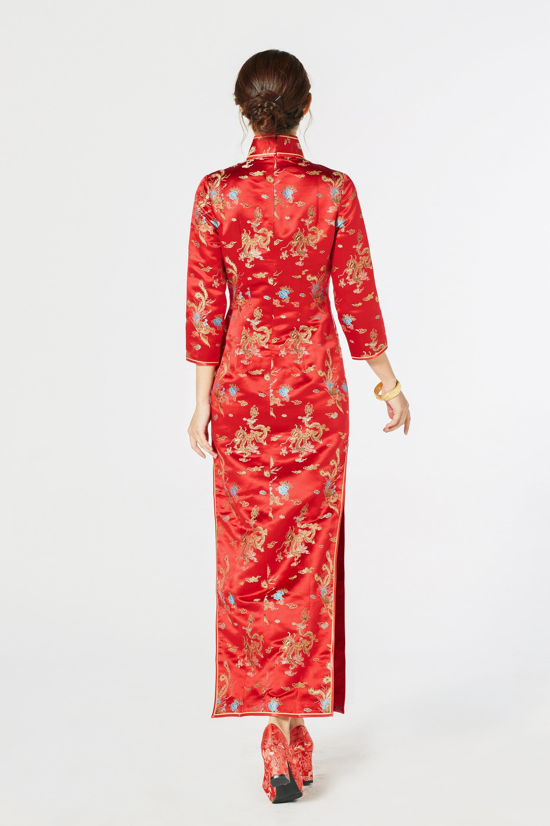 Gemma Bespoke Dress - Cheongsam - East Meets Dress