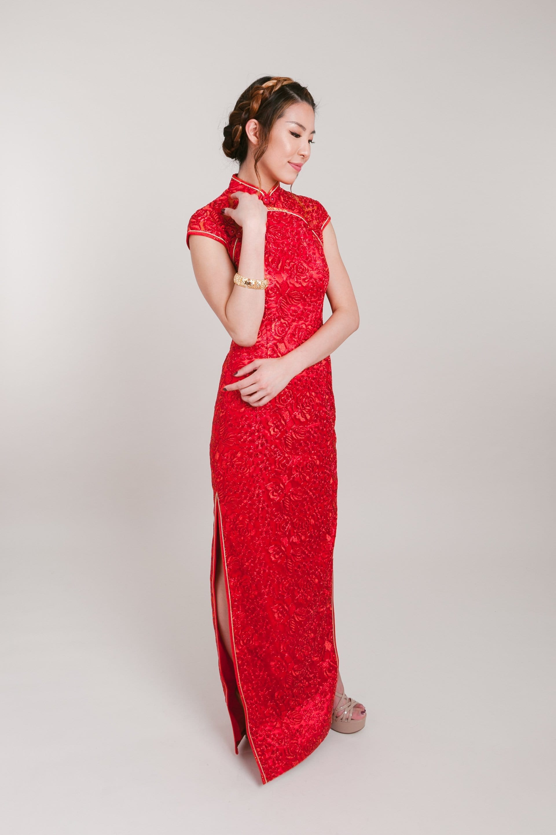 Sandra Dress - Cheongsam - East Meets Dress