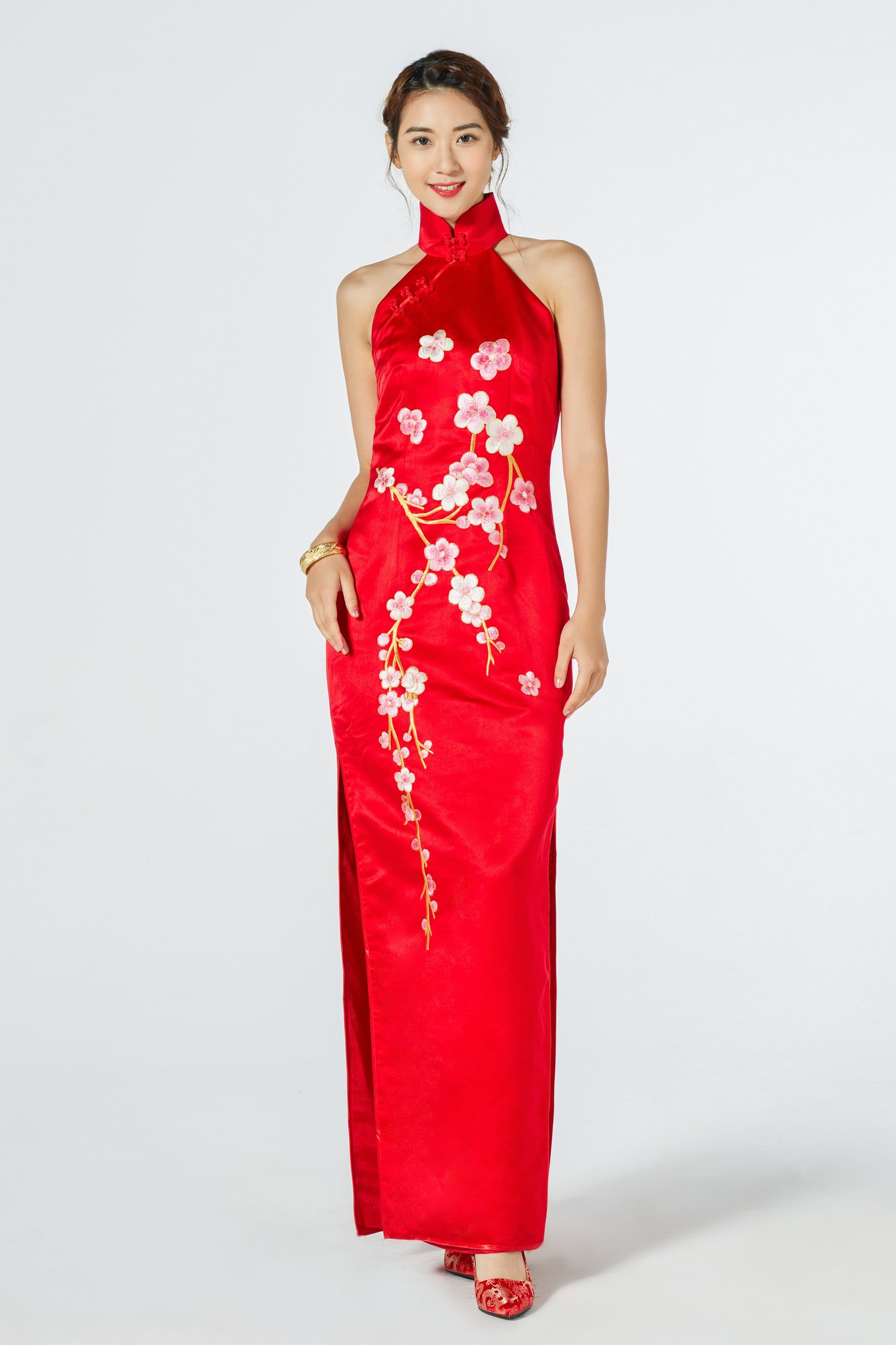 Amanda Bespoke Dress - Cheongsam - East Meets Dress