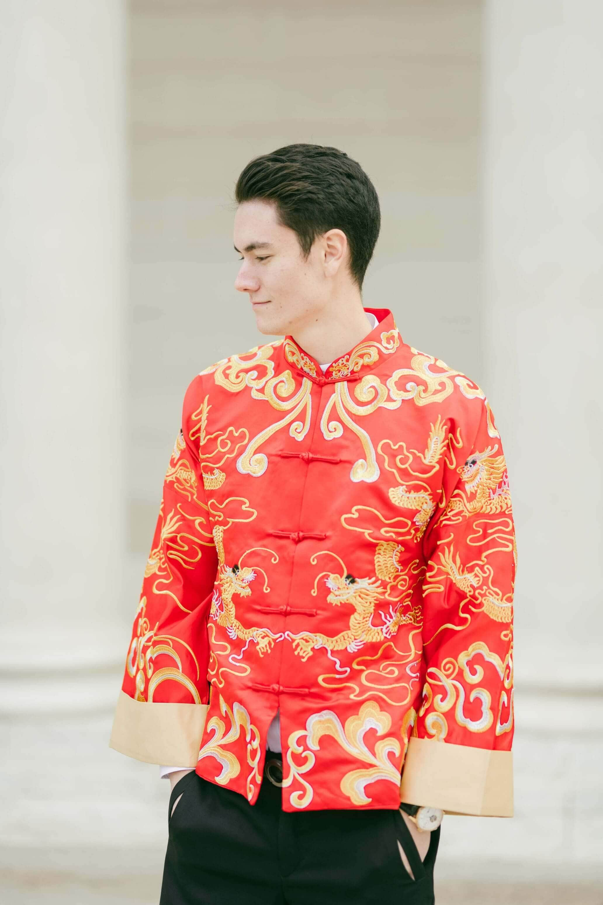 Han Jacket | Changshan | Chinese Tang Suit