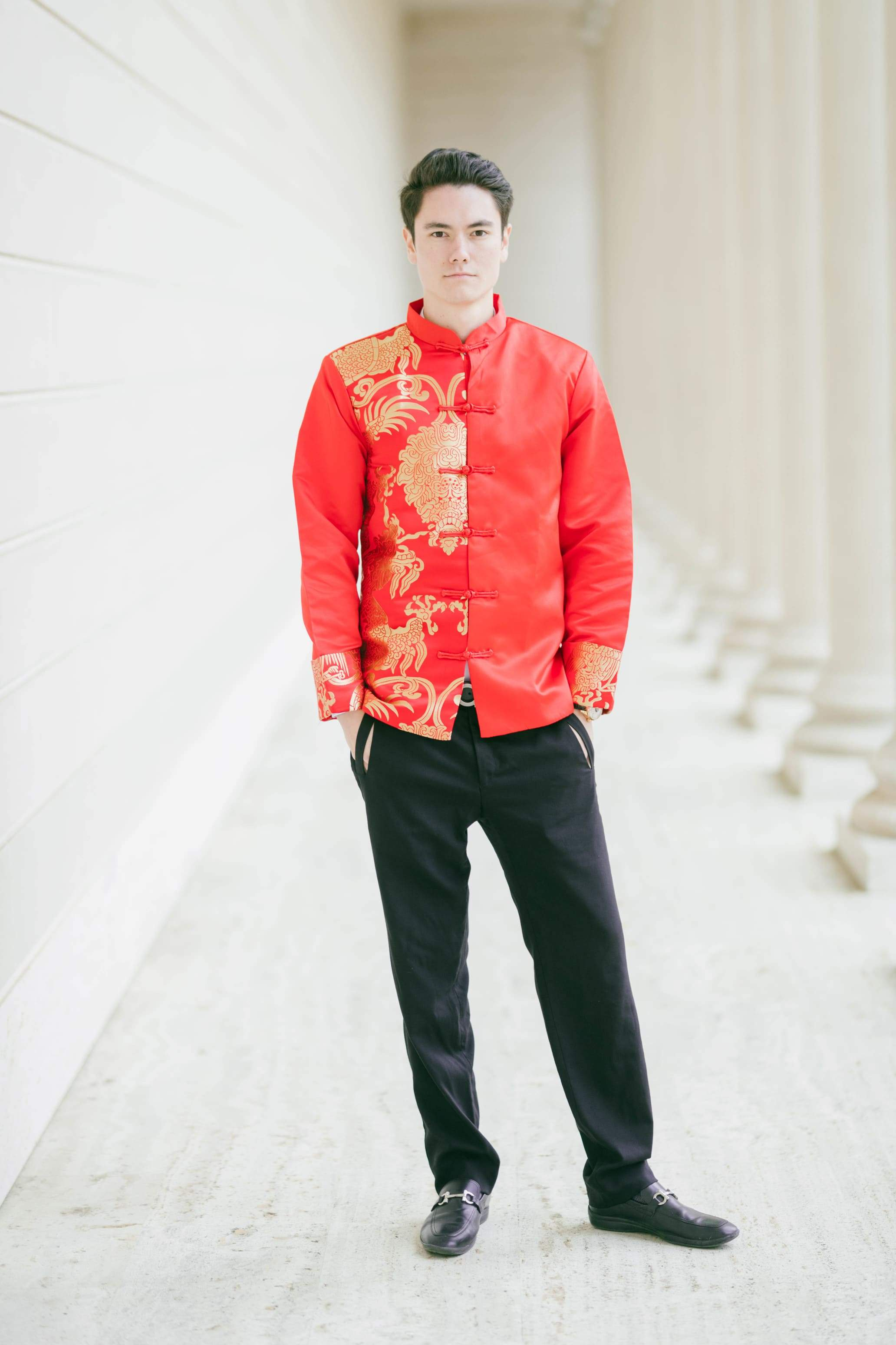 Shang Jacket | Men's Changshan | Traditional Chinese Jacket