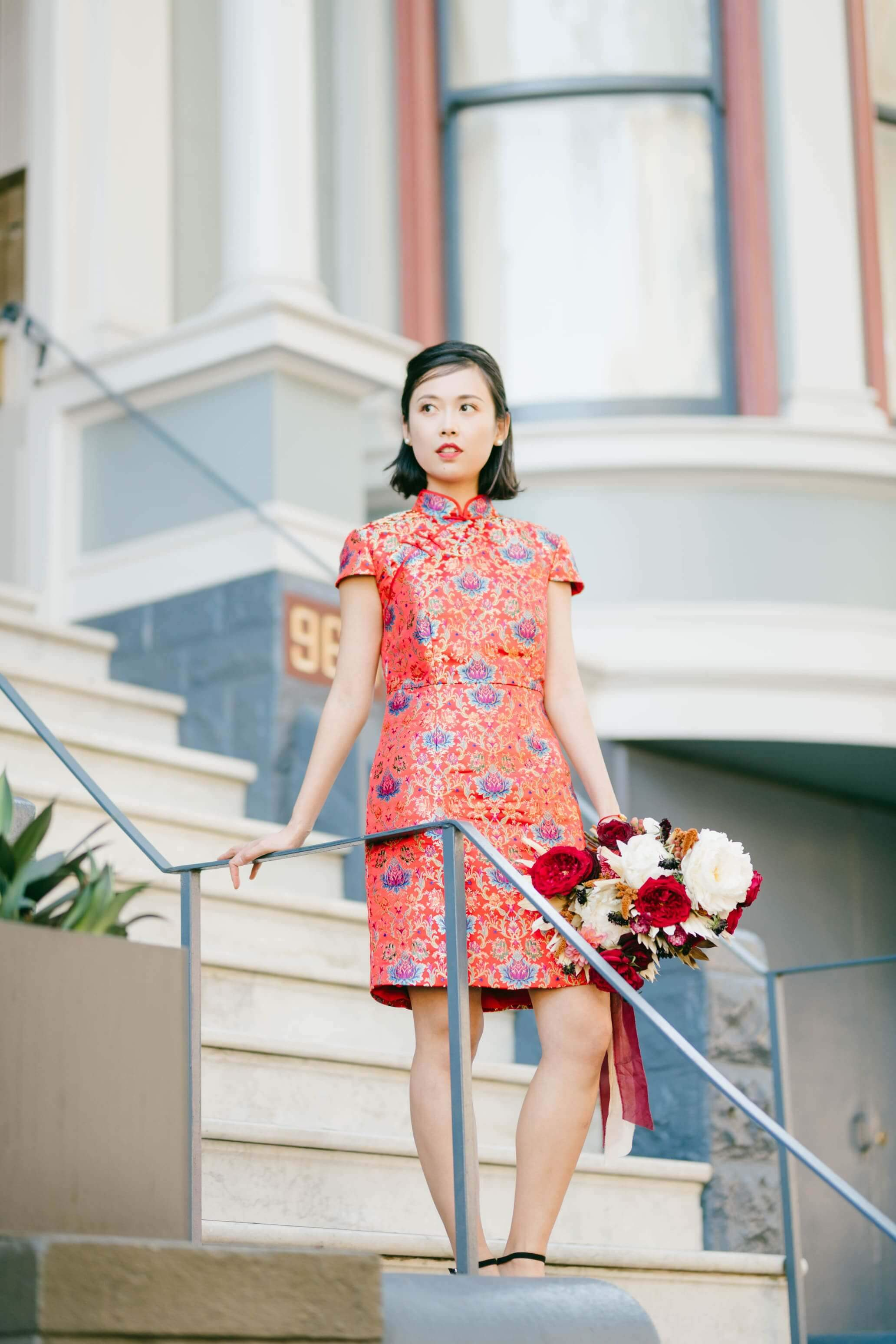 Nadya Dress | Modern Qipao