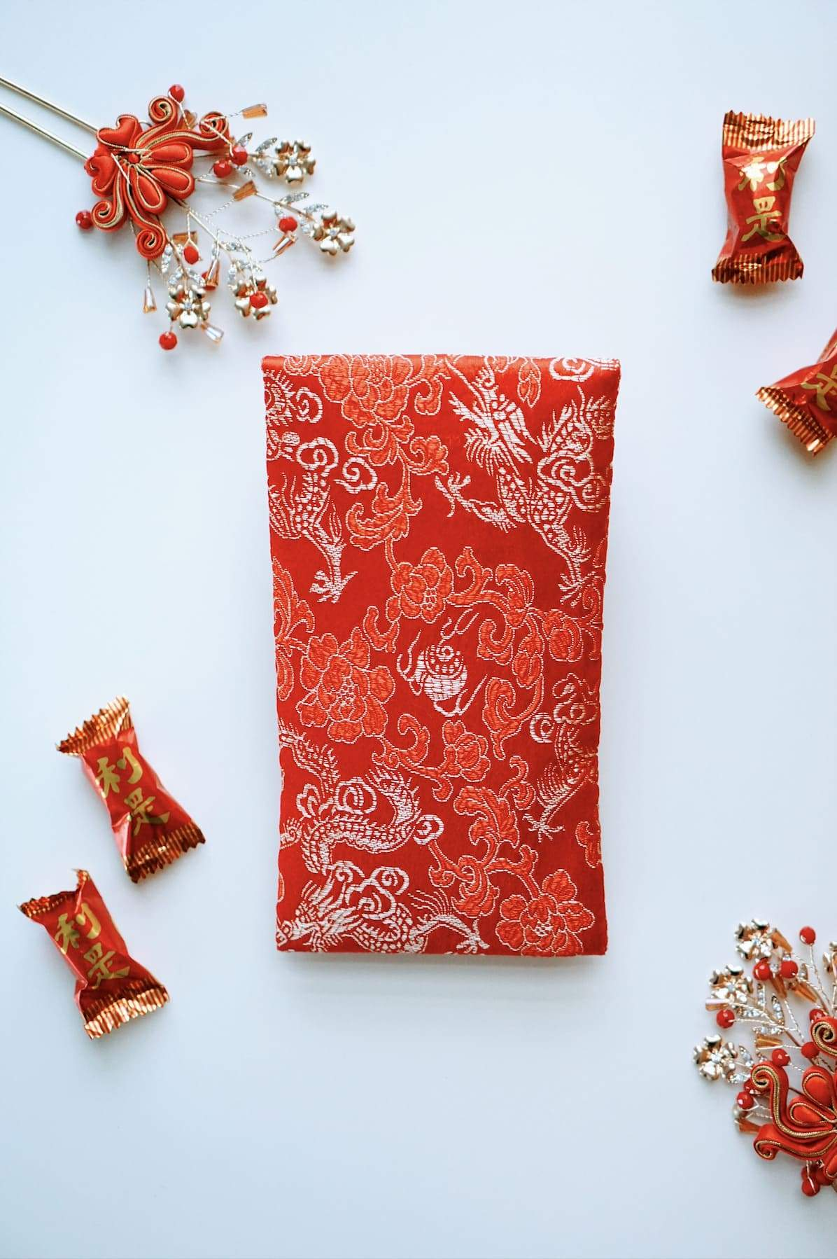 Brocade Red Envelopes [4]