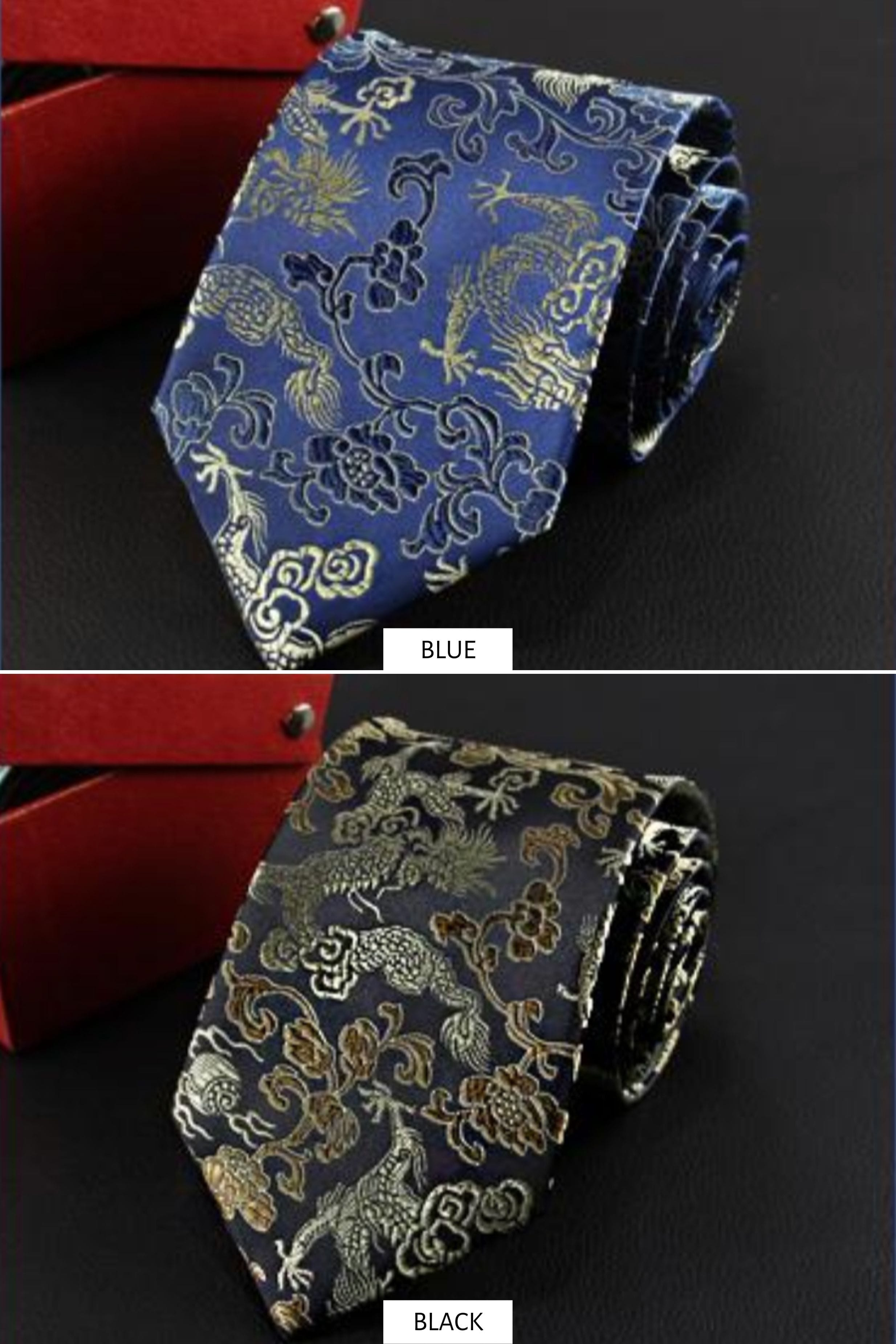 Classic Dragon Tie - changshan - East Meets Dress